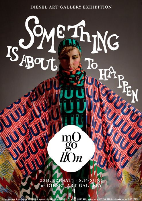 """""""SOMETHING IS ABOUT TO HAPPEN"""" /   Mogollon for Diesel Art Gallery. Tokyo, Japan"""