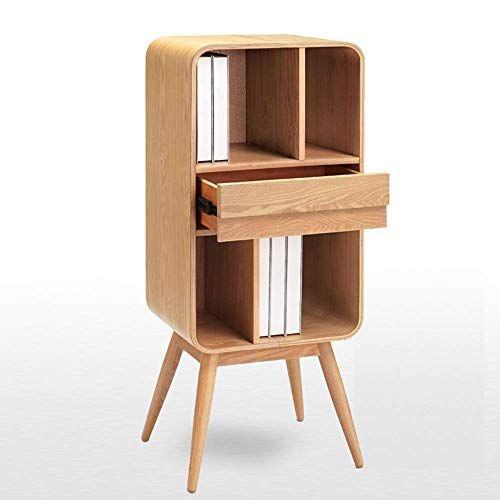 Wenyu Bookcase Locker Simple Solid Wood Small Low Cabinet Door