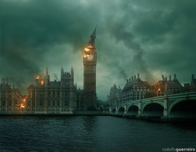Rodolfo Guerreiro Artwork: Apocalypse: Londres