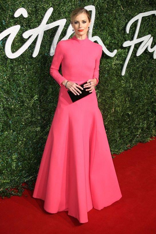 British Fashion Awards 2014 Laura Bailey
