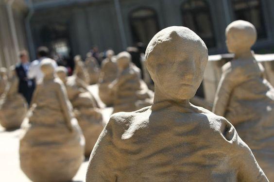 Esculturas de Juan Muñoz