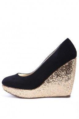 Обувки на платформа GOLD • Виж на: http://shopping-terapia.com/obuvki-106/visoki-tokcheta-108/obuvki-na-platforma-gold-2656.html.html