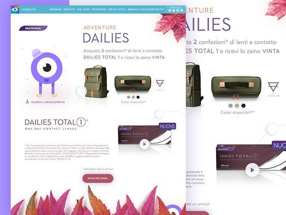 Landing page Dailies