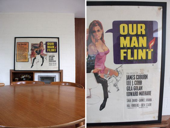 Our Man Flint Movie Posters Original and Rare Vintage 1960s by WaysideFlower on Etsy https://www.etsy.com/uk/listing/193183803/our-man-flint-movie-posters-original-and