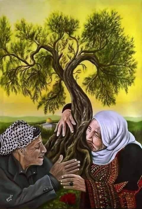 صباح الحريه والأحرار صباح العشق للارض يوم الارض الفلسطيني باقون ما بقى الزعتر والزيتون باقون باقون Palestine Art Art Floral Painting