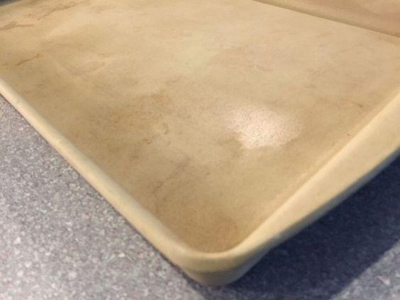 Pampered Chef Stoneware Large Bar Pan Sheet 17 1 2 Quot X 11