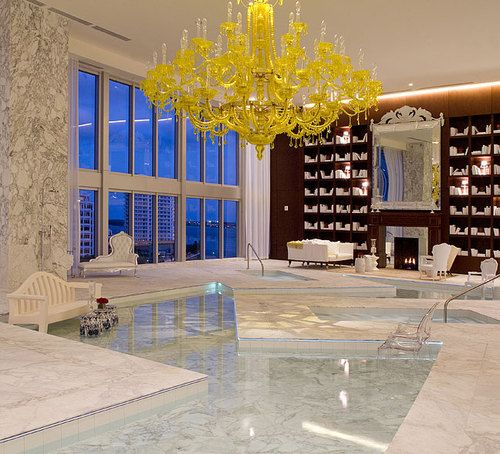 Stunning Indoor Pool Miami Gallery - Interior Design Ideas ...