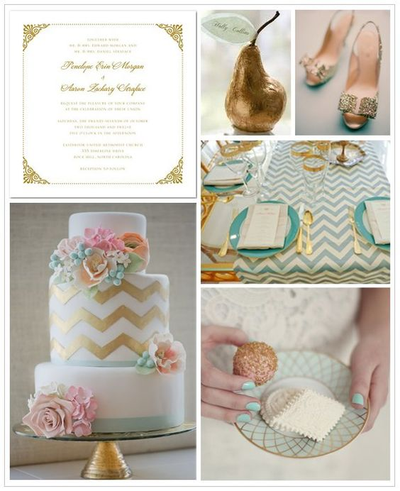 {Strike Gold} Look at This Modern Gold Wedding Inspiration Board on our @Pinterest  Page! #Eventplanning #dceventplanner #chevron #gold