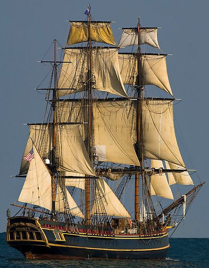 A tall ship and a star to steer her by (Source: wasbella102, via circusofsplendor)