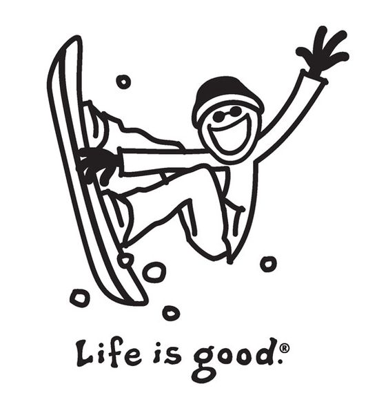 Ski and Snowboard #Coloring Pages
