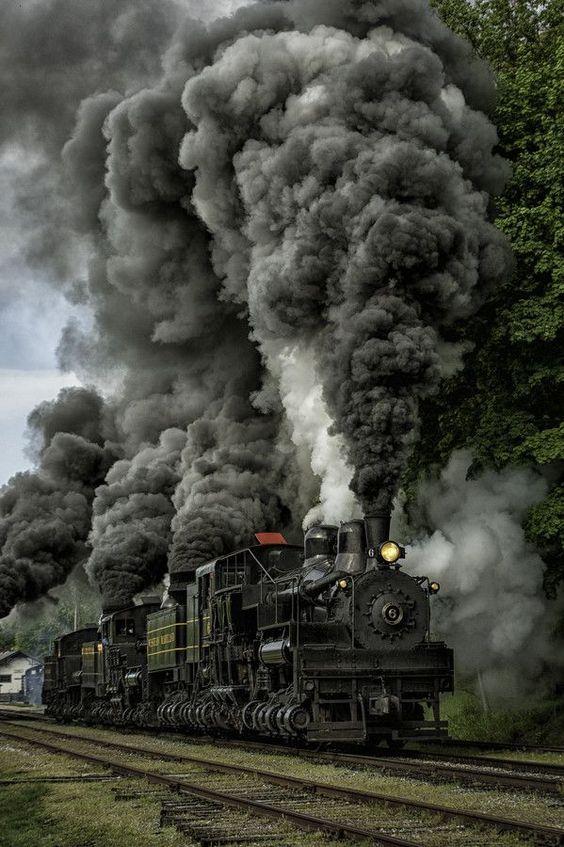 steam train: