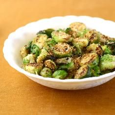 Brussels Sprouts With Toasted Breadcrumbs, Parmesan And Lemon Zest ...