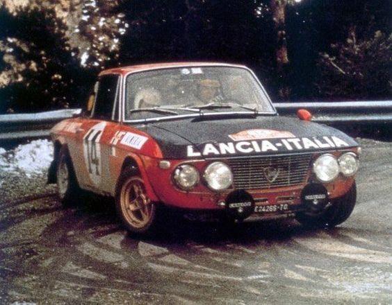 Sandro Munari, Lancia Fulvia HF (Rallye Monte-Carlo ...