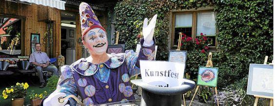 Das Kunstfest von Tiefthal macht heiter weiter – Erfurt | Thüringer Allgemeine