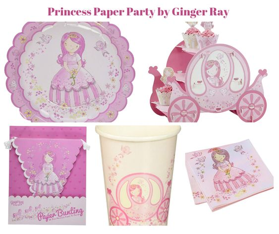 Princess Paper Party by Ginger Ray