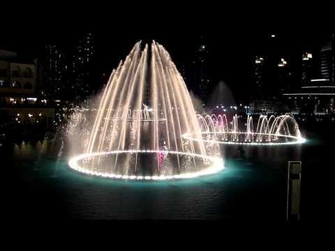 Andrea Bocelli - Time to say good bye, Dubai fountain, Feb2011