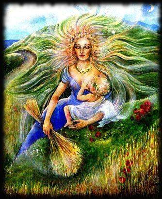 Resultado de imagem para deusa terra