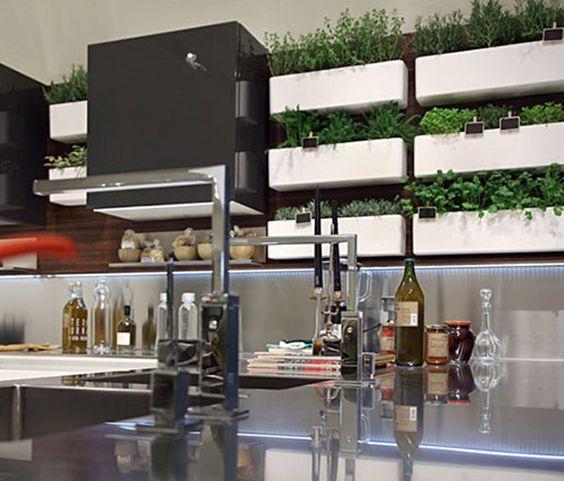 Modern White Green Stainless Steel Kitchen Worktops Indoor