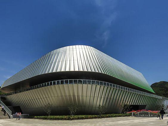 Fachada Futurista. Arquiteto: UNStudio. Fotógrafo: Edmon Leong.
