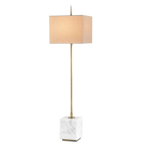 Currey Company Thompson Brass And White One Light Buffet Lamp 6975 Bellacor In 2020 Buffet Lamps Lamp Black Floor Lamp