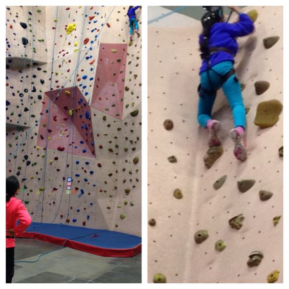 Isabella's second climb.  Esnire is watching and learning.