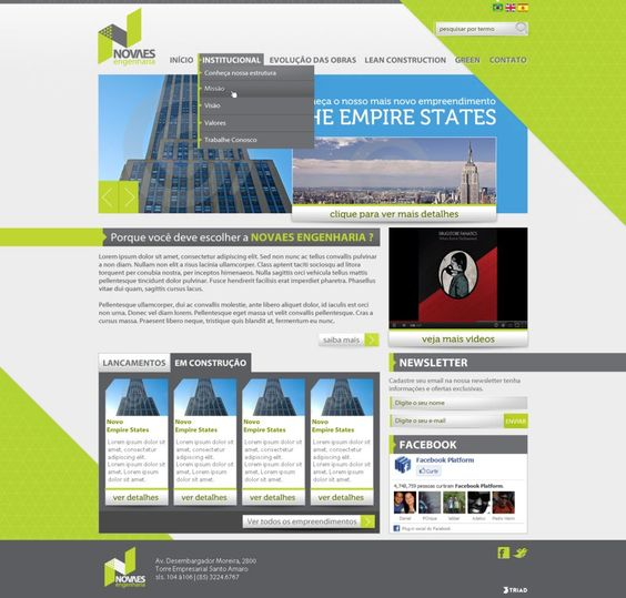 Novaes by ~Marciokun #webdesign #trends