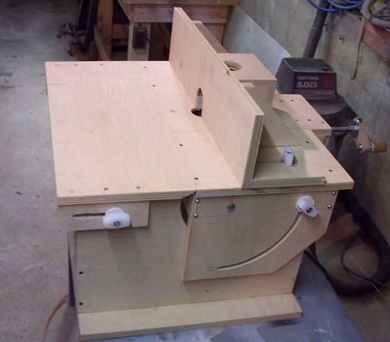Vertical Horizontal Router Table Build Router T 1 Jpg