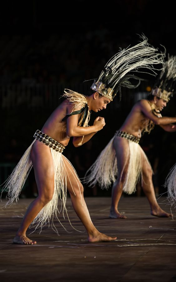 tahitian dancer - dancer performing during the heiva
