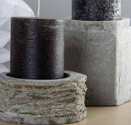 b ton cr atif pour fabriquer des bougeoirs fabrication de bougie pinterest. Black Bedroom Furniture Sets. Home Design Ideas