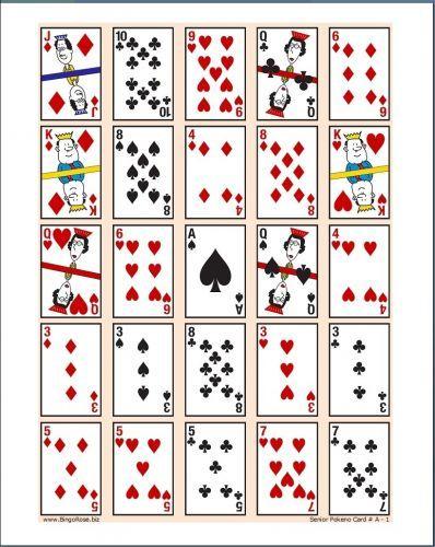 poker keno game cards