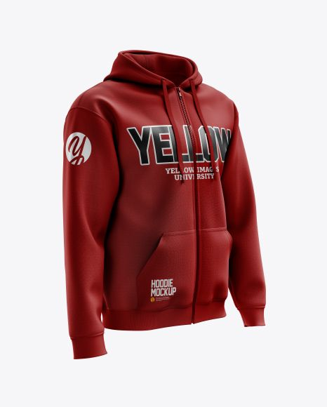 Download Men S Full Zip Hoodie Mockup Right Half Side View In Apparel Mockups On Yellow Images Object Mockups Hoodie Mockup Clothing Mockup Hoodies