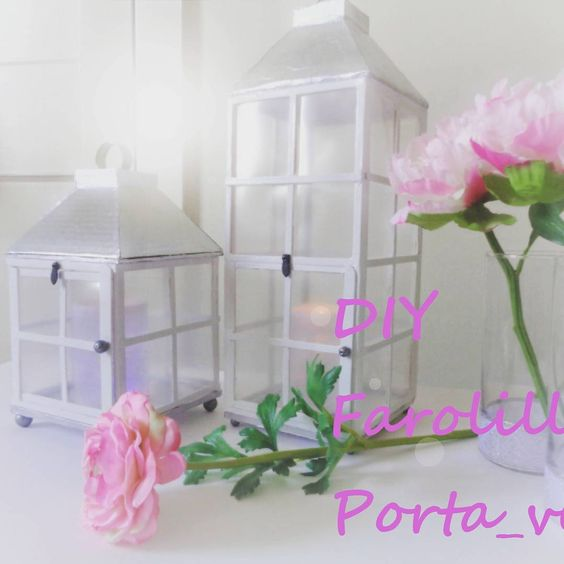 Nuevo vídeo!! DIY farolillo porta - velas #youtube #video  #tutorial  #homesweethome  #hogardulcehogar  #smallandlowcost  #homemadedecor  #DIY #aprendamosjunt@s  #detalles  #facil  #practico  #bonito  #velas  #white  #portavelas  #farolillo #mantenteinspirado  #stayinspired