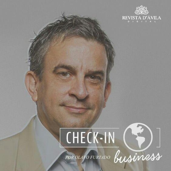 """A Revista D'Ávila dá as boas-vindas ao nosso novo colunista Olavo Furtado que estará a frente da coluna """"Check-in Business""""! Acompanhem:  http://ift.tt/1KI3o7B"""