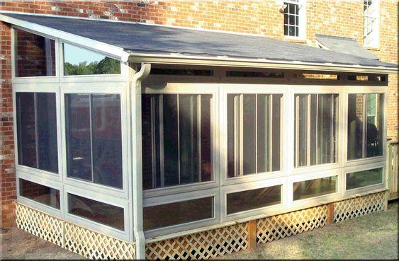 Sunroom Kits Sun Room And Sunrooms On Pinterest