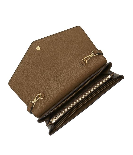 <p>Equal parts naughty and nice, the Nolita Wallet on a String is just the thing for a Bendel Girl who can't be defined. Crafted with sensuous embossed leather, this wallet features an unexpected capacity for organized storage all within a sly little snap. </p>