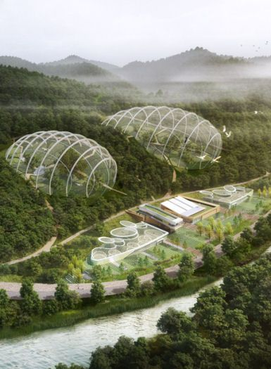 National Research Center for Endangered Species in South Korea by Samoo Architects & Engineers