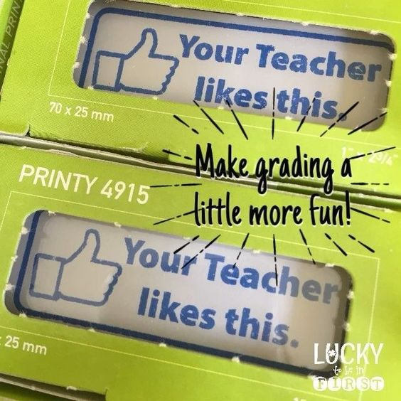Tired of grading stuff yet? Make it fun with a new stamp! http://lucky2be1st.com/luckystamps