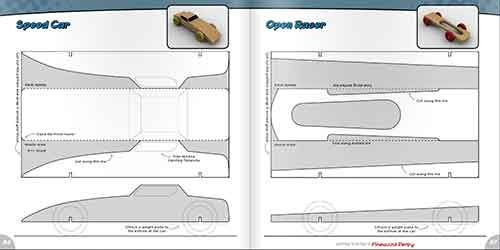 22 Pinewood Derby Templates Images Car Designs