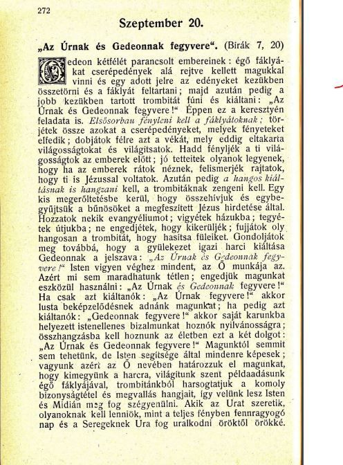 09.20.Spurgeon: Harmathyöngyök...