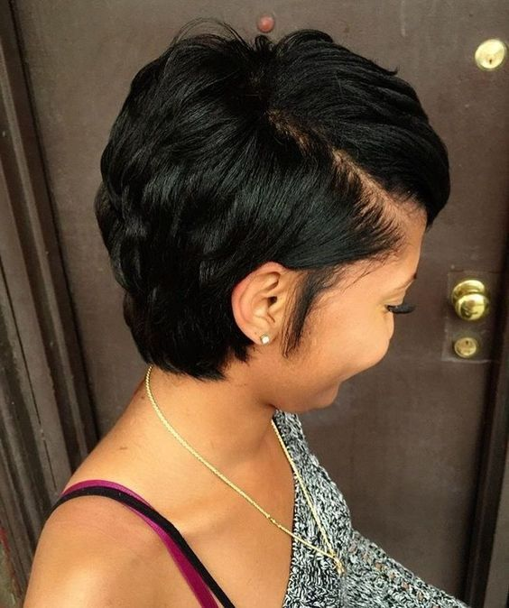 The Most Stunning Short Hairstyles For Black Women Natural Hair Styles Hair Styles Short Hair Styles