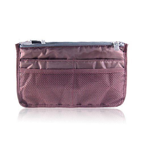 Gigi Hill Women Zipper Organiser Tidy Makeup Pouch Handbag