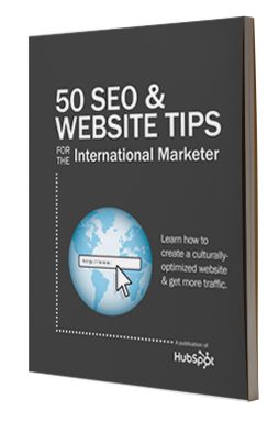 Free Guide: 50 SEO & Website Tips for the International Marketer