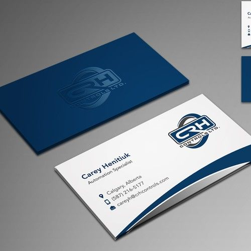 Up And Coming Automation Company In Oil And Gas Business Card Contest Ad Business Sponsored Oil And Gas Business Card Design Professional Business Cards
