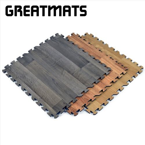 Wood Grain Foam Tiles Gray Oak Maple Dark Oak Trade Show Flooring Foam Tiles Wood