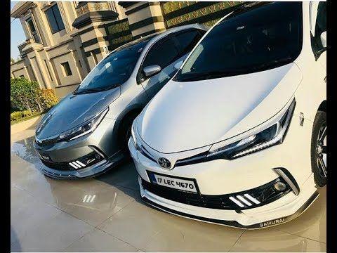 Toyota Corolla Altis Grande Facelift Modified Compilation Muneeb Akram Hd Toyota Corolla Corolla Altis Toyota Corolla 2017