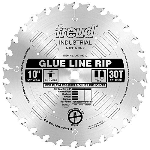 Freud 10 X 30t Glue Line Ripping Blade Lm74m010 Freud Https Www Amazon Com Dp B00006xmtu R Circular Saw Blades Table Saw Blades Sliding Compound Miter Saw