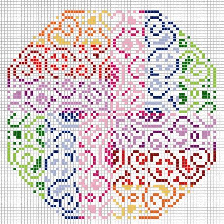 Colors hama perler beads design pattern - perles à repasser : http://www.creactivites.com/229-perles-a-repasser