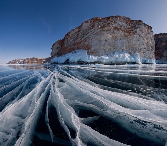 Lake Baikal, Irkutsk, Siberia, Russia