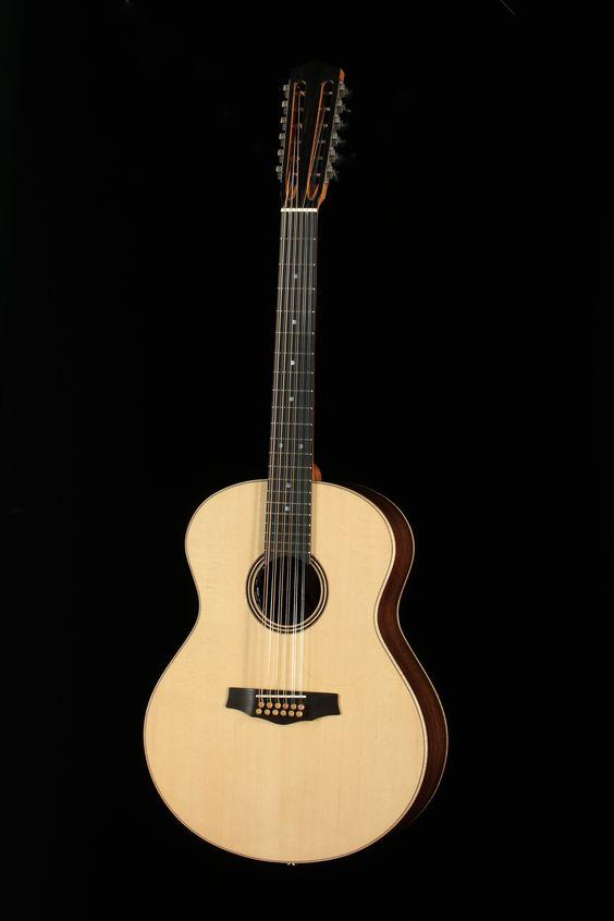 Guitare de Éric Cadieux, École nationale de lutherie, 2012