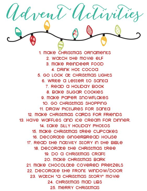 Burlap ribbon advent calendar activities list creative for Advent crafts for adults